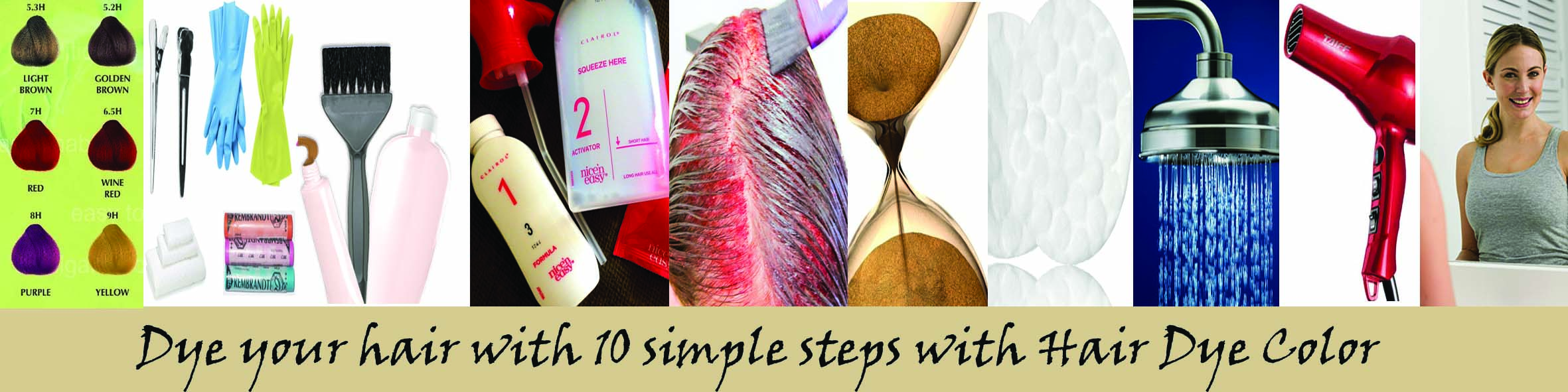 How To Dye Your Hair At Home Hairdyecoloruk