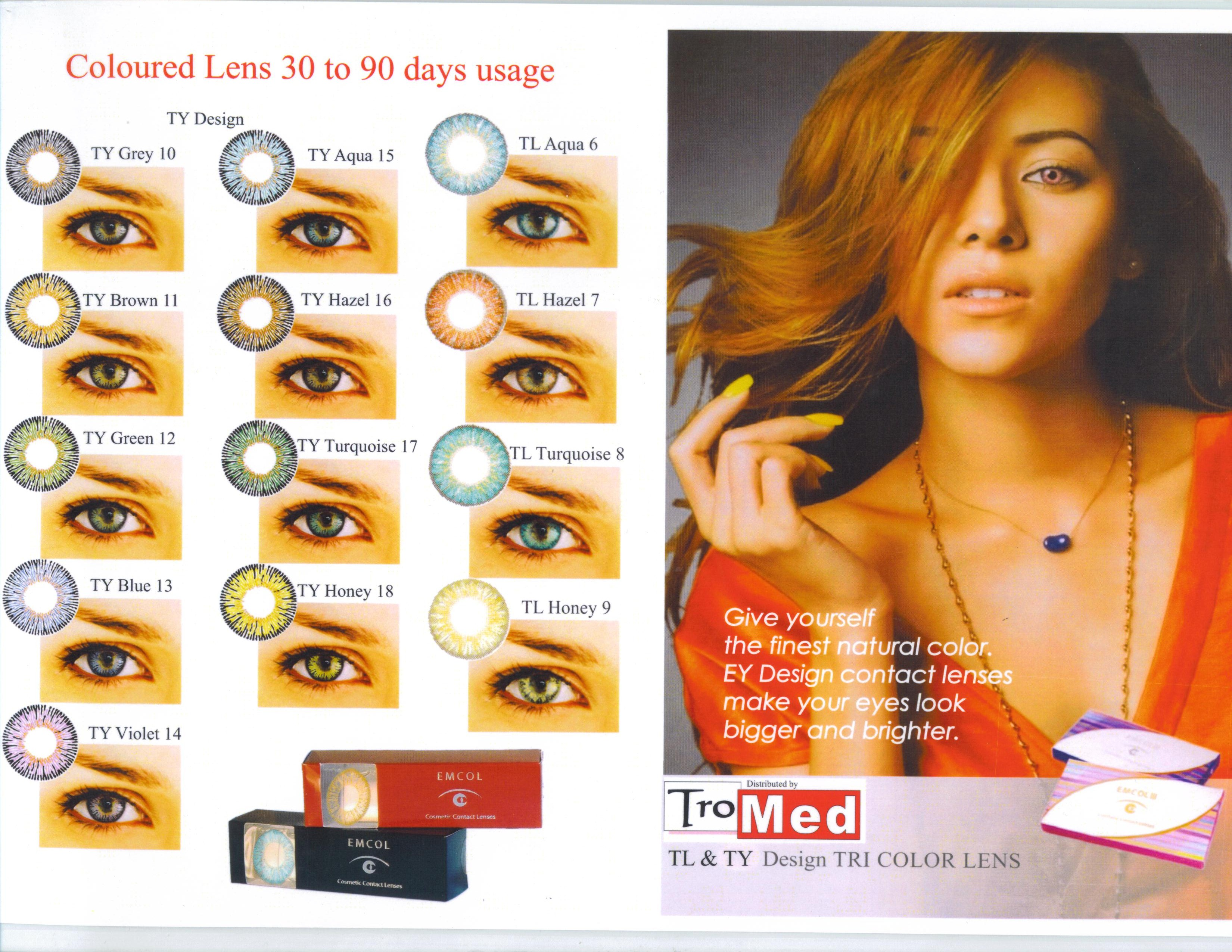 Maxima Colors are lenses that will make your look unique